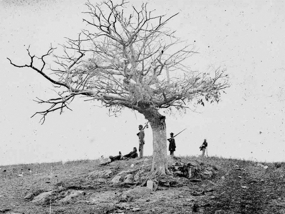 "Fig. 2 ""A Lone Grave"" – Alexander Gardner (1862)"