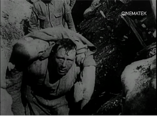 Pic. 13. The legendary shot from Battle of the Somme, reused in La tragédie de Marchienne.
