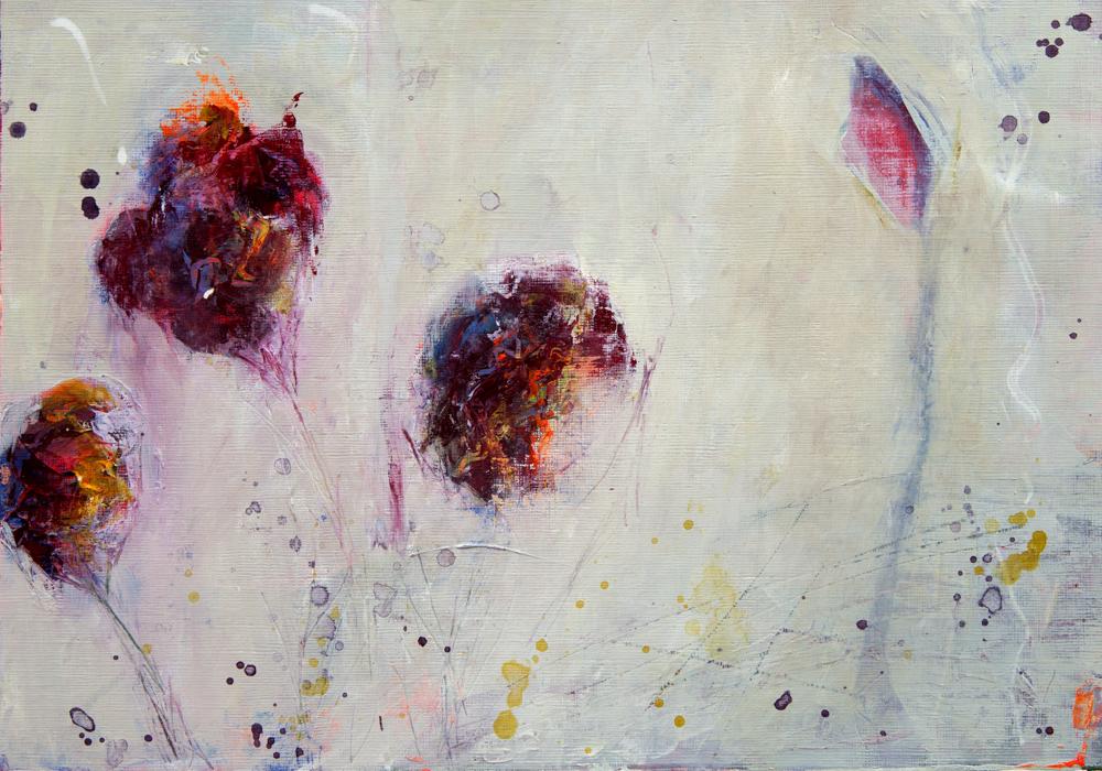 Live near. Acrylic on paper. 25 x 35 cm. Lynne Cameron, 2014.